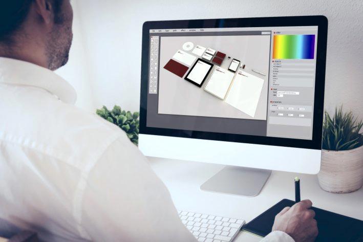 PC Design Briefpapier
