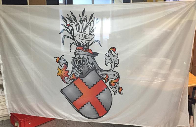 Banner und Planen sowie Fahnen